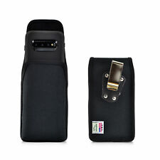 Belt Clip fits Galaxy S10 with OTTERBOX DEFENDER Vertical Holster Black Nylon
