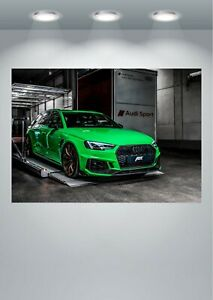 Audi RS4 ABT Car Large Poster Art Print