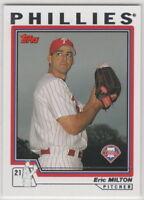 2004 Topps Baseball Philadelphia Phillies Team Set