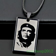 Cool Che Guevara Pendant Stainless Steel Necklace ST76