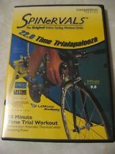 CYCLING DVD Indoor workout Spinervals 22.0 Time Trialapalooza TT triathlon road