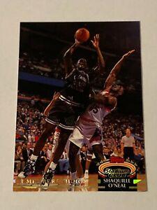 Shaquille O'Neal 1992-93 Stadium Club MC Rookie Card #201 Orlando Magic