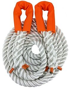 NYLON 12 tonne Recovery Tow Rope 4 x 4 - 4 metre x 24mm dia, Towing, Kinetic