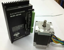Brushless DC Motor(57BLF03) 188W 24V 3000RPM DRIVER(8015A) Router Milling Car