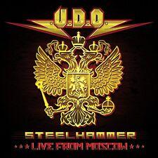 U.D.O. - STEELHAMMER-LIVE FROM MOSCOW (DVD+2CD DIGIPAK) 2 CD + DVD NEU