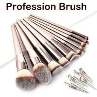Makeup Brushes Set Foundation Powder Eyeshadow Eyeliner Lip Brush Tool Kit