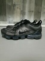 🔥Nike Air Vapormax 2019 Ghost Triple Black AR6631 004 DS Size 11.5 NEW