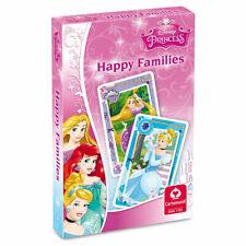 Disney Princess Happy Families Childrens Card Game