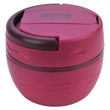 Polar Gear 500ml Insulated Lunch Pod Microwave Food Pot Bowl Box Berry Pink New