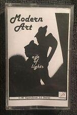 MODERN ART Age Of Lights ~ Rare Original Cassette ~ Gary Ramon Signed! Sun Dial