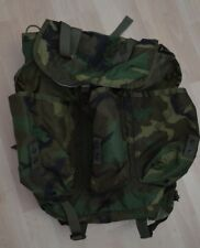 Vintage Military Camo Green Combat Field Backpack Camel Mfg Co