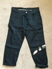 Zara Mens Black Linen Pants Size 32