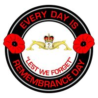 Royal Navy Submariners Remembrance Day Inside Car Window Clear Cling Sticker