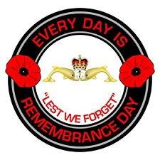Royal Navy Remembrance Day Inside Car Window Clear Cling Sticker