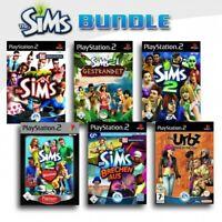 PS2 / Sony Playstation 2 Spiel - Die Sims 6er Pack mit OVP
