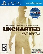 Uncharted The Nathan Drake Collection Ps4 PlayStation 4 Game
