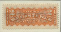 Canada Stamp Scott #F1, Used