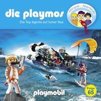 DIE PLAYMOS - DIE PLAYMOS-(65)DIE TOP AGENTS AUF HOHER SEE   CD NEU