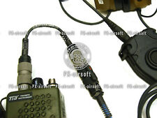 Amplify Adapter for PRC-148 152 mbitr Radio (TCA TRI TEA PTT TCI peltor comtac)
