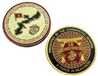 US Marine Corps III Marine Expeditionary Force Challenge Coin