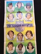 A&BC Gum Tottenham Hotspur Football Club 1972-73 No. 12 Giant Team Poster