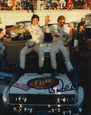 Walter Rohrl Hand Signed 10x8 Photo Fiat Abarth Rally.