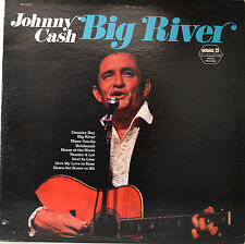 "Johnny Cash-Big River 12"" LP (o199)"