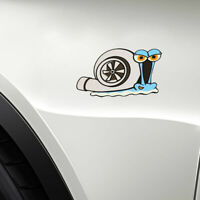 Funny Turbo Snail Decal Car Styling Bumper Window Wall Sticker Decor Accessories