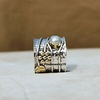 Pearl Ring 925 Sterling Silver Band Ring Statement Handmade Ring Jewelry A473