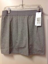 New Womens Adidas Essentials Rangewear Golf Skort Size Small S Gray MSRP $65