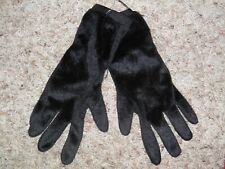 "GYMBOREE ""Halloween Shop"" Black Gloves Size 8 & Up NEW!"