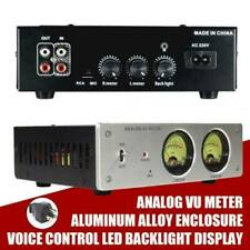 Analog Vu Meter Panel Voice Controlsound Level Indicator Led Backlight Display