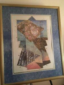 "William Gatewood ""Summer Kimonos"" from original Mixed Media Artwork"
