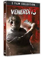 VENERDI' 13 COLLEZIONE 5 FILM (5 DVD) BOX EDIZIONE LIMITATA