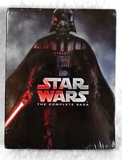 New Star Wars The Complete Saga Nine Blu-Ray Discs Sealed Package
