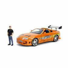Jada Toys Fast and Furious Brians Toyota Supra 1:24 Diecast Car with Brian Figure - JAD30738