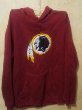 Washington Redskins Youth Sweatshirt Long Sleeve Hoodie Pockets NFL Team Apparel