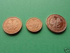 manueduc   1 , 2 y 5 Cent  ALEMANIA 2002  A ,D,F,G y J   Las 15 Coins  Nuevas