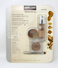 Kirkland Borghese Mineral Sheer Foundation, Concealer & Powder Fairly Light