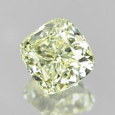 """0.43CT Natural Yellow Diamond Cushion Untreated """"SI1"""" Clarity 🎆New Year Sale"""