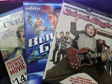 3 Movies Dvd: Derailed, School of Rock, Blades of Glory