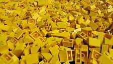 100 gelbe Lego® Basic Dachsteine / Dachziegel gelb - City - Haus (L012)