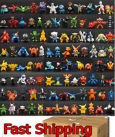 NEW 144 PVC Toy Mini Figures Monster Animation model PARTY Gift CAKE TOPPER