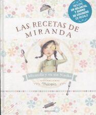 Las recetas de Miranda (pack+delantal+gorro de cocina). ENVÍO URGENTE (ESPAÑA)
