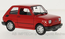 # WELLY 1/21 NEX - FIAT 126 ROSSA - MIB - NUOVO 1/24 RARA RED FSO BIS #