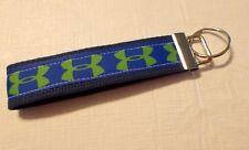 New Handmade Under Armour Logo Inspired Wristlet Key chain Hand Lanyard Key Fob