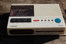 ANCIEN RADIO REVEIL SCHNEIDER BLANC TR7310 -Cassette HS  - //CR//