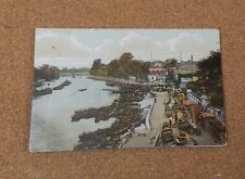 Richmond on Thames riverside Tinted Posted 1907