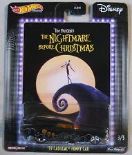 Hot Wheels 2020 Premium Disney '59 CADILLAC FUNNY The Nightmare Before Christmas