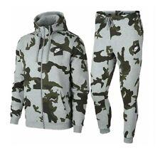 Nike Herren Camo Trainingsanzug AOP Hoody Tracksuit Jogginganzug Streetwear
